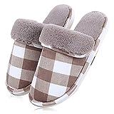 ToullGoOfficial Pantoffeln,Warme Hausschuhe Indoor Startseite Slipper, Weiches Plüsch Hausschuhe...