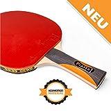 Tischtennisschläger Player Thunderball 2 von GEWO / hohe Kontrolle und MAXIMALER Spin