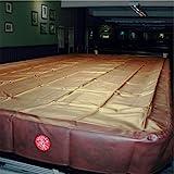 Spartan robuster, wasserabweisender Snooker-Tischbezug in voller Größe–365 cm, burgunderrot