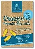 Es ist Omega-3, aber besser - viel gesünder als Fischöl - pflanzenbasiertes DHA und EPA aus...
