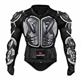 Oshide Motorradjacke hochwertig Motorrad Schutz Protektoren Schutzjacke Hemd Brustschutz...