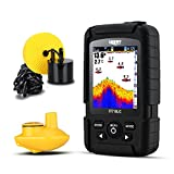 LUCKY FF718LiC 328 ft/100 m Tiefe Fishfinder Sonar Transducer 2-in-1 Wired & Wireless Sensor tragbar...