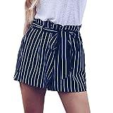 Vectry Damen Hosen Shorts Sommer Hotpants Bermudas Ultra Jeans Leggings Strand Laufgymnastik Yoga...