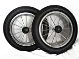 2 Ersatzräder Räder Ersatzräder für Caddy Golfwagen verchromte Felge 12,5 Zoll