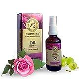 Gesichtsöl, rein natürlich, Gesichts-Öl mit naturreinem 100 % Jojobaöl, Traubenkernöl,...