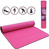 Malaika Yoga- und Fitnessmatte, Sportmatte   für Yoga, Pilates, Funktionales Training uvm.   inkl....