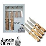 Jamie Oliver Steakmesser-Set XL (4-teilig) 23 cm