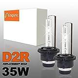 Engync 2xD2R 35W HID Xenon Fern+Abblendlicht, H/L Ersatzlampe Scheinwerfer -3000K-3 Jahre Garantie