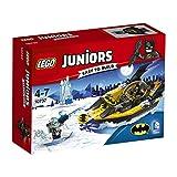 Lego 10737 Juniors Batman gegen Mr. Freeze, Superhelden-Spielzeug für vier bis sieben Jährige