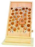 Kletterpfad / Geschicklichkeitsspiel aus Holz mit bunt eingezeichneten Pfaden, Motorikspielzeug kann...