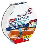 tesa Anti-Rutschband / Antirutsch Klebeband transparent / robuste Antirutschstreifen für Treppen /...