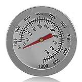 Räucherofen für den Außenbereich, 52mm,-Camping-Ofen-Thermometer zum Kochen