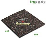 Qualitativ hochwertige Antivibrationsmatte 60 x 60 cm made in Germany   mit hoher Effizienz  ...