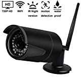 IP Kamera,YUMUN Indoor / Outdoor HD 720P Wasserdicht WLAN Smart Home HD-Überwachung...