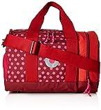 Lässig Mini Sportsbag Sporttasche mit Schuhfach Dottie Turnbeutel, 40 cm, Red