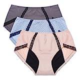 Intimate Portal Damen Total Security Auslaufsicherer Hygieneslip Unterhose Für Periode Menstruation...
