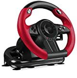 Speedlink Gaming Lenkrad für PC / Computer und Konsole - Trailblazer Racing Wheel USB (Schaltknauf,...