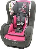 Osann Kinderautositz Cosmo SP Corail Framboise pink rosa, 0 bis 18 kg, ECE Gruppe 0 / 1, von Geburt...