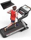 Sportstech Profi Laufband F50 mit riesigem 18,5 Zoll Android LCD Touchscreen Display, über 18 km/h,...