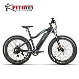 Fitifito FT26 Elektrofahrrad Fatbike E-Bike Pedelec, 36V 250W Heckmotor,36V 13Ah 468W Samsung Akku,...