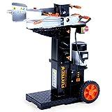 FUXTEC Holzspalter 10 t FX-HS110 stehend mit 400V Hydraulikspalter hl Langholzspalter...