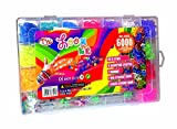 6000 Teile XXL Loom Starter Kit Set Bänder Bandz Gummibänder mit Charms Anhänger Webrahmen Haken...