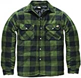 DICKIES Holzfällerhemd Thermohemd PORTLAND (L, grün/schwarz)