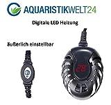 50 Watt Digitale Aquarium Heizung Heizer Regelheizer Süßwasser Meerwasser Aquaheat Aquarien...