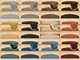 Kettelservice-Metzker® Stufenmatten Treppen-Teppich Rambo 15er SparSet 17 Farben incl....