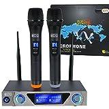 VHF Funkmikrofon Set HandheldDrahtloses Mikrofon System mit Dual Handheld Dynamischen Mikrofone und...