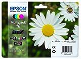 Epson Original T1806 Tintenpatrone Gänseblümchen, Claria Home Tinte, Text- und Fotodruck...