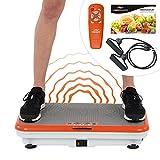 Vibro Shaper Vibrationsplatte Ganzkörper Trainingsgerät rutschfest große Fläche inkl...