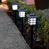 6er Set LED Solar Laterne Gartenleuchte Lights4fun