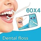 Zahnseide 240 Stk. Zahnseide Sticks Zahnstocher kunststoff Zahnpflege Dental Floss Zahnreiniger...