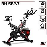 BH Fitness SB 2.7 H9174F – Indoorbike/Indoorcycling - 22kg Schwunggewicht/ PoliV-Riemen/...