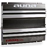 auna AB-250 • Car HiFi Verstärker • 2-Kanal Auto-Endstufe • Car Amplifier • Leistung: 1200...