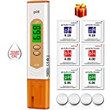 pH Messgerät, kungfuren Aufgerüstet pH Wert Messgerät Digital pH Temperatur Messgerät Tester...