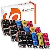 Bubprint 30er Set Druckerpatrone Kompatibel Für Canon Pixma MX925 IP7250 MG5650 MX725 Drucker Canon...