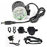 CREE XM-L T6 LED-Fahrrad-Licht, wieder aufladbare Fahrrad-Scheinwerfer Super helle wasserdichte...