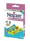 Nexcare N0920NLW Soft Kids Design Pflaster 19 X 72 mm, 20 Stück