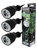 3Stk LED Pflanzenleuchte Pflanzenspot Pflanzen-Strahler Deko-Beleuchtung Deko