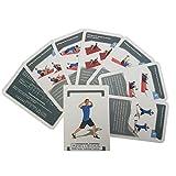 32 Trainingskarten - Trainingsplaner mit Bodyweight Übungen ohne Geräte, Ganzkörpertraining,...