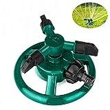 Rasensprenger, Coquimbo Garten Sprinkler, Sprenger Garten, 360 Grad 3-Arm drehender Wasser Sprenger,...