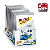 Getränkepulver Sport von Dextro Energy IsoFast | 12 Sachets mit Fruit Mix Geschmack | Hypotonisches...