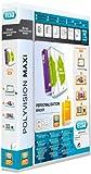 ELBA 100201774 Kunststoff-Ringbuch polyvision Maxi DIN A4 4 Ring-Mechanik 2,5 cm breit...