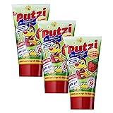 3er Pack Putzi Die Zahncreme fr Kinder Erdbeere (3 x 50 ml) Kinderzahncreme, Kinderzahnpasta,...
