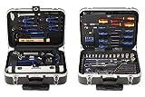 Projahn 4963-01 Werkzeug Trolly Set 130-tlg. , Werkzeug Kasten / Nuss Satz / Ratschen Satz mit...
