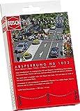 Busch 1023 - Absperrung, Fahrzeug