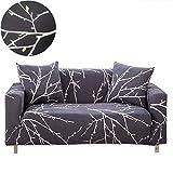 ENZER Sofa Schonbezug Stretch Elastischer Stoff Blumen Vogel Muster Sessel Doppelschlaf Couch Neue...