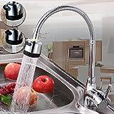 Küchenarmatur Mischbatterie Catalpa Blume Wasserhahn 360° Drehbar Küche Spültischarmatur...